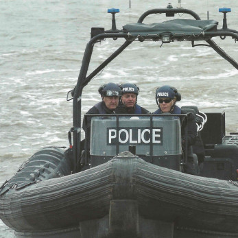 Thames Police Boat