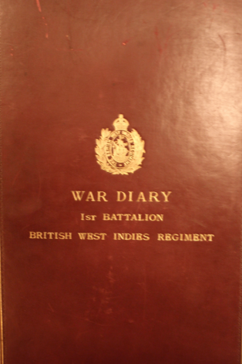 The War Diary of the First Battalion who fought across the Middle East.